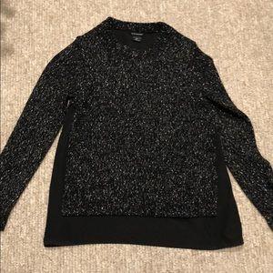 Club Monaco Sweater with Silk Underlay